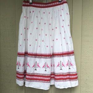 American Retro Peasant Skirt